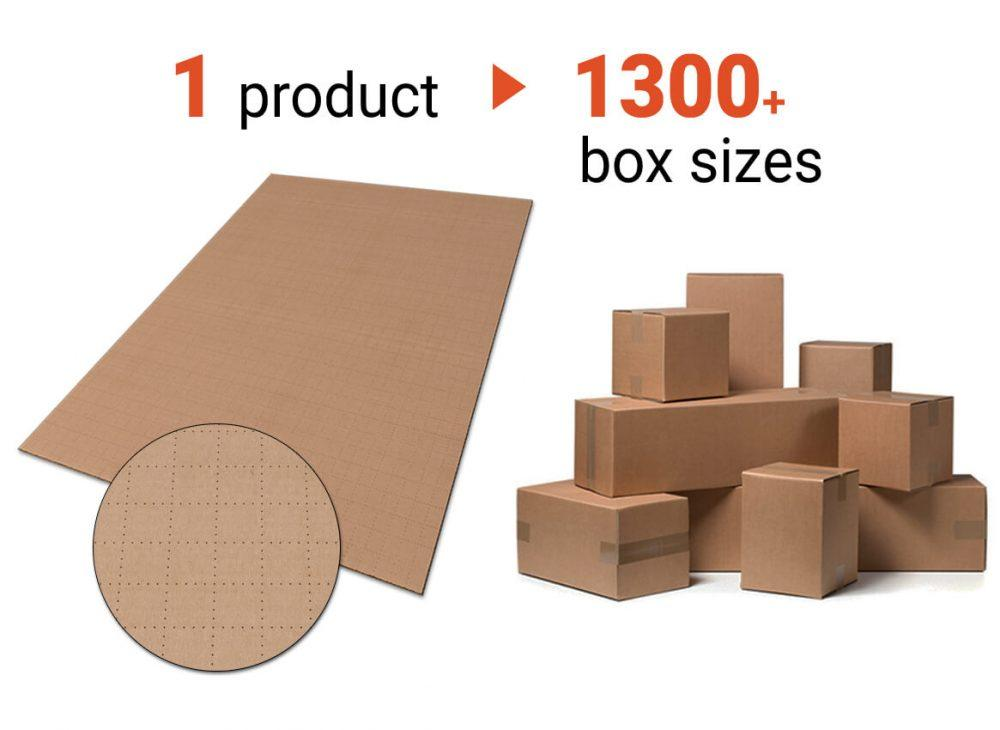 cardboard sheeets for making fragile boxes