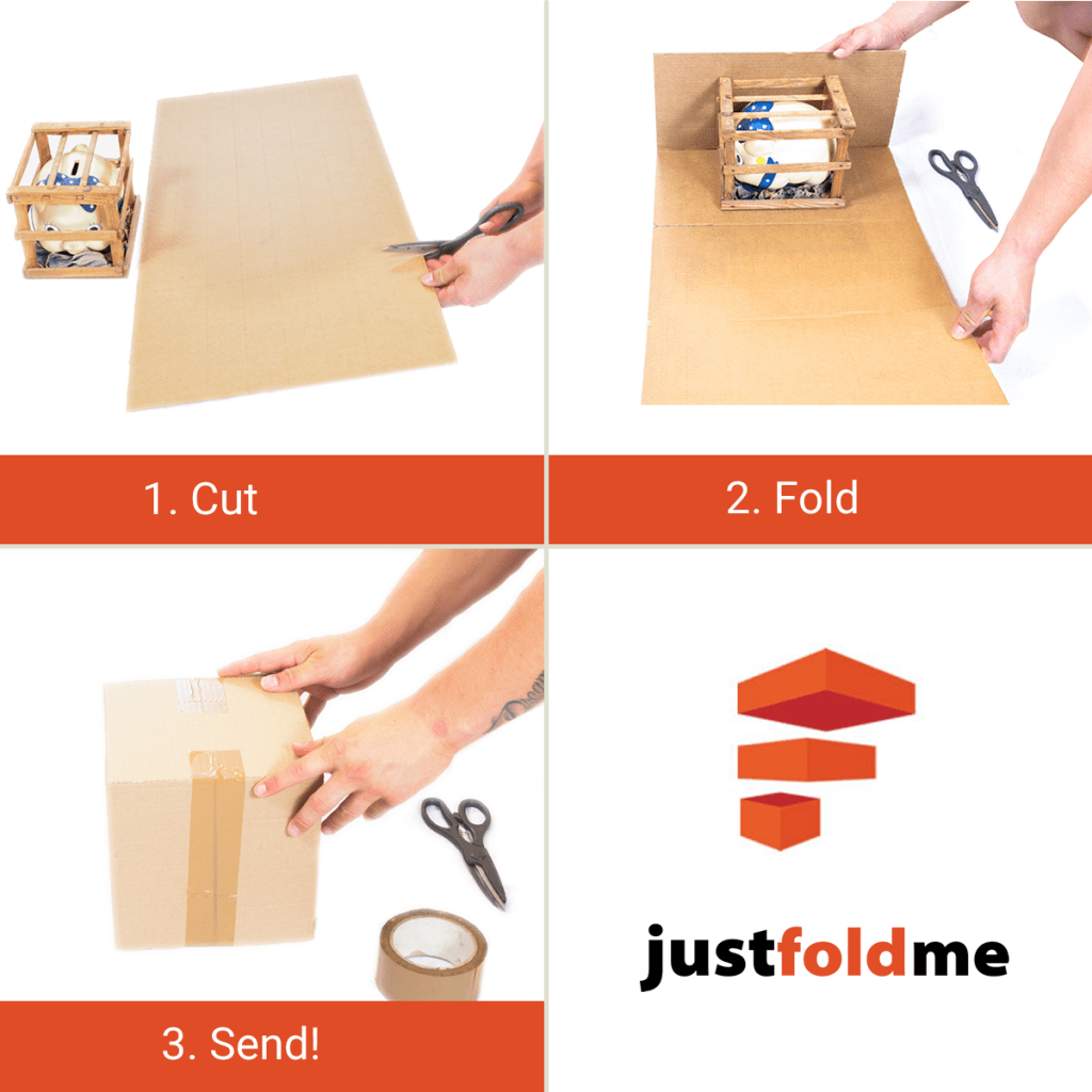 how to fold odd shaped boxes